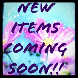 I'll be listing new items by the end of today!